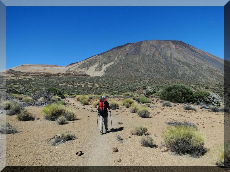 Teide 3.718m. desde la playa del Socorro 44