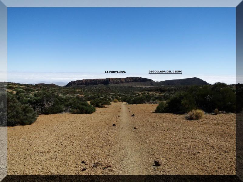 Teide 3.718m. desde la playa del Socorro 45