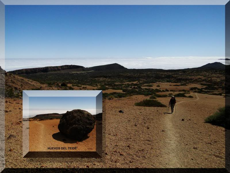 Teide 3.718m. desde la playa del Socorro 47