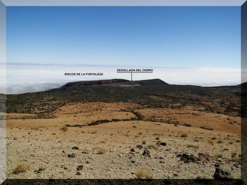 Teide 3.718m. desde la playa del Socorro 50