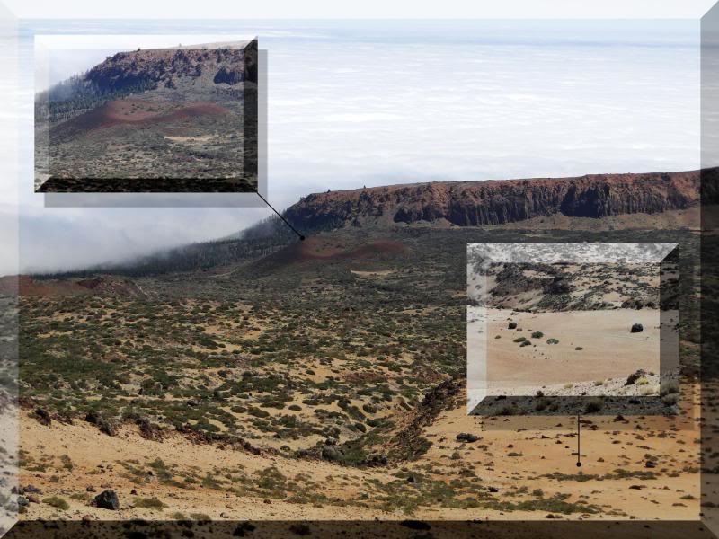Teide 3.718m. desde la playa del Socorro 51