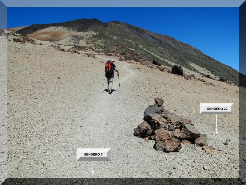 Teide 3.718m. desde la playa del Socorro 52