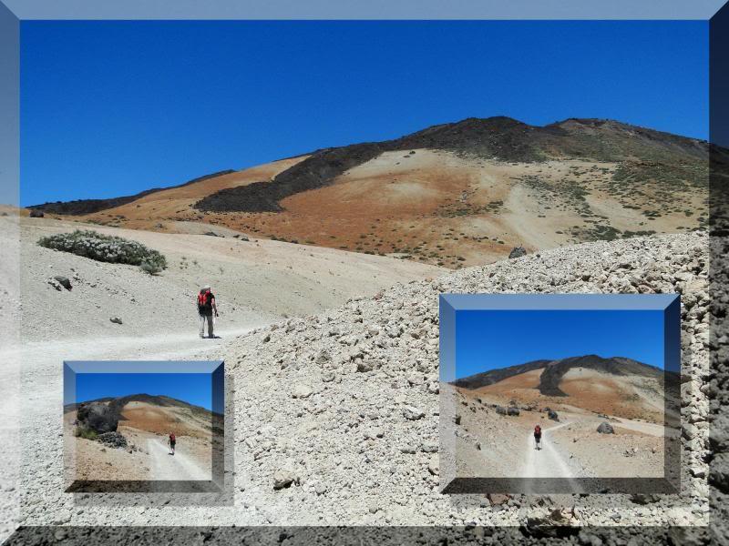 Teide 3.718m. desde la playa del Socorro 55