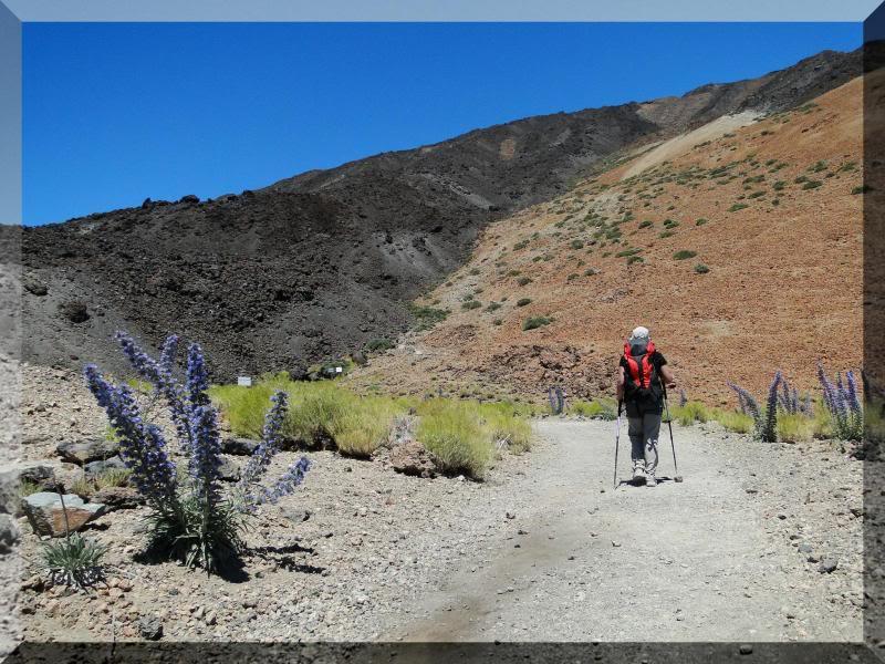 Teide 3.718m. desde la playa del Socorro 57