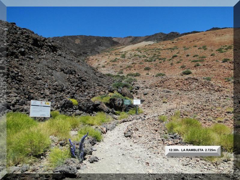 Teide 3.718m. desde la playa del Socorro 58