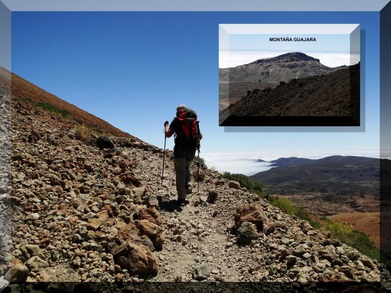 Teide 3.718m. desde la playa del Socorro 59