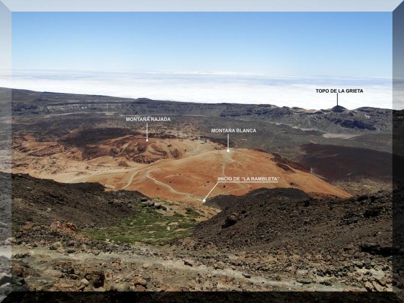 Teide 3.718m. desde la playa del Socorro 62