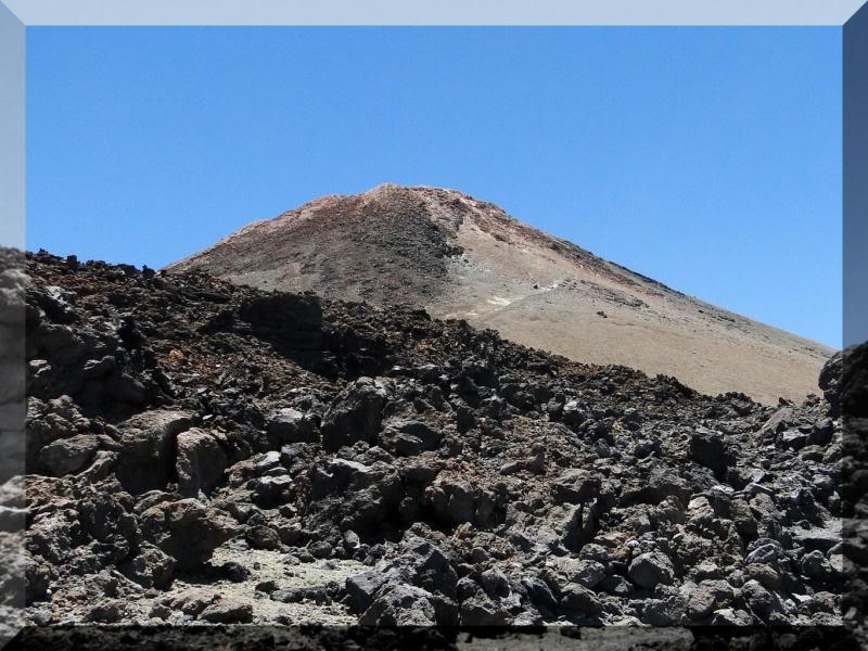Teide 3.718m. desde la playa del Socorro 68