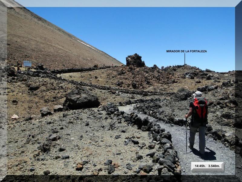 Teide 3.718m. desde la playa del Socorro 69