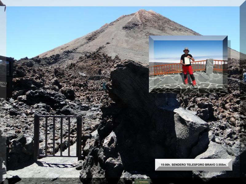 Teide 3.718m. desde la playa del Socorro 72