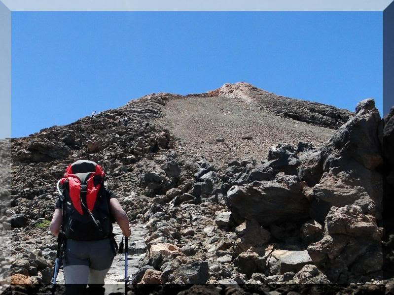Teide 3.718m. desde la playa del Socorro 73