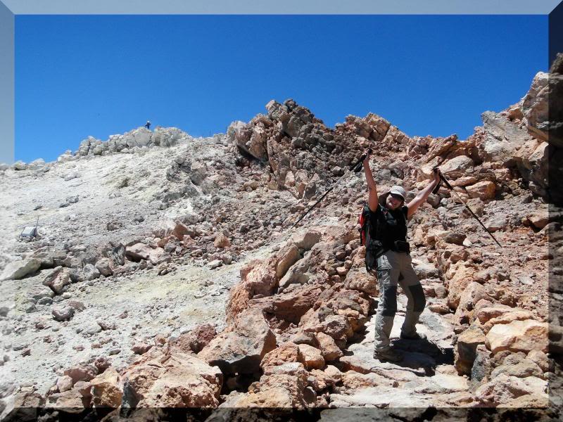 Teide 3.718m. desde la playa del Socorro 75
