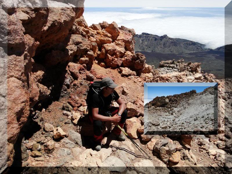 Teide 3.718m. desde la playa del Socorro 77