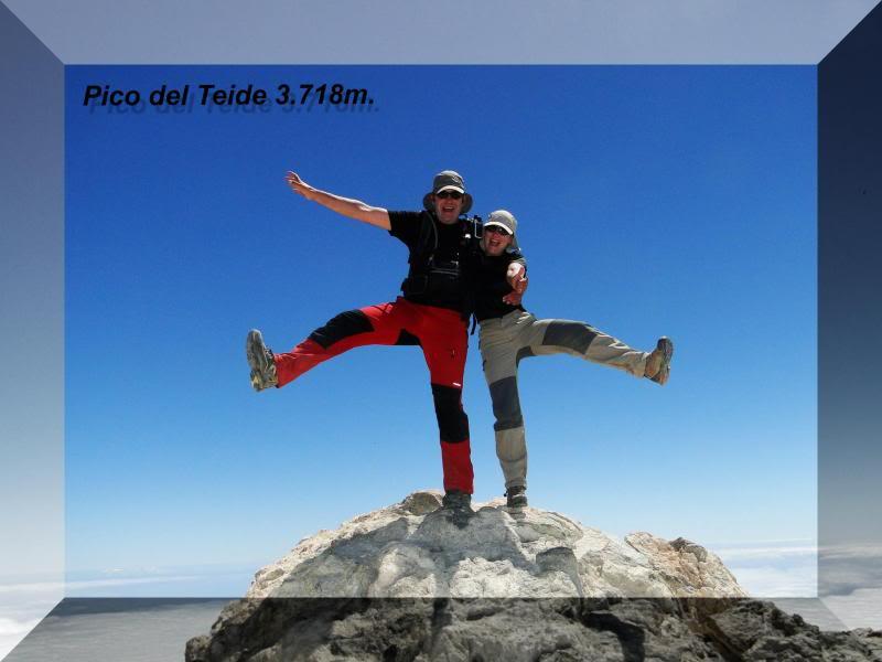 Teide 3.718m. desde la playa del Socorro 79