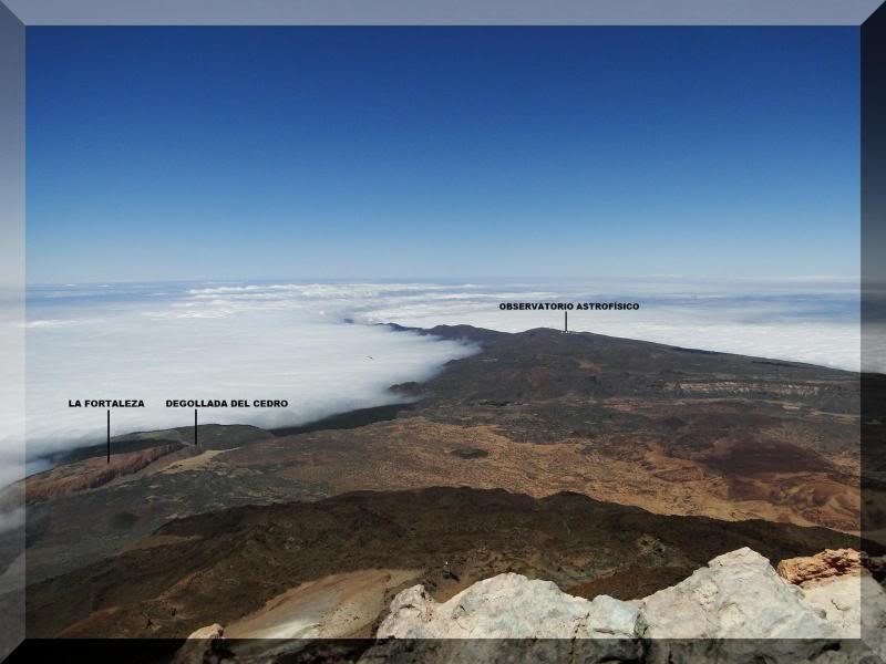 Teide 3.718m. desde la playa del Socorro 80