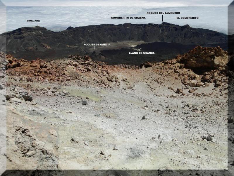 Teide 3.718m. desde la playa del Socorro 81
