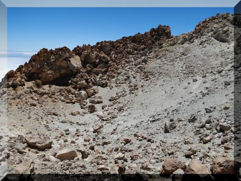 Teide 3.718m. desde la playa del Socorro 85