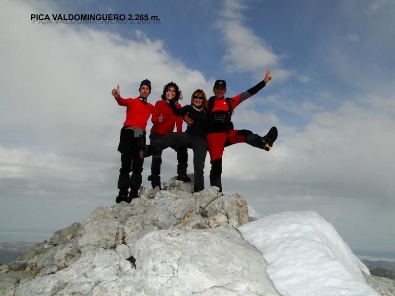 Pico Valdominguero 2.265m. desde Jito de Escarandi DSC07479