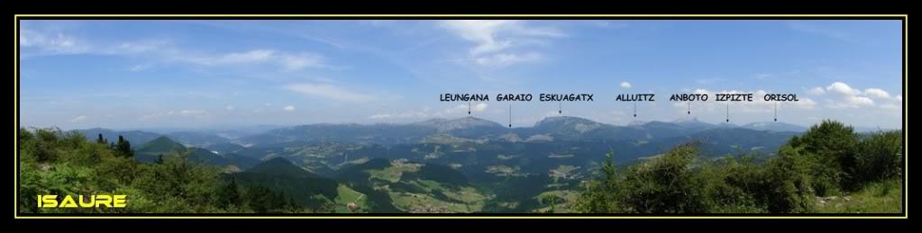 Ascensión y vuelta al Gorbea 1.481m. DSC01453