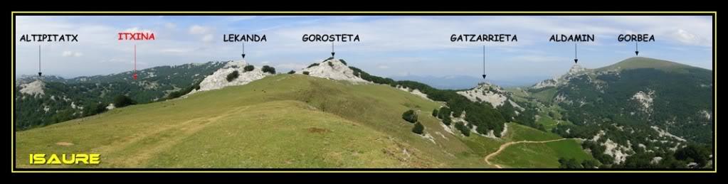 Ascensión y vuelta al Gorbea 1.481m. DSC01496