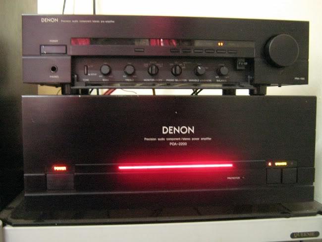 DENON POA-2200 + DENON PRA 1100 ~ SOLD ~ IMG_2233