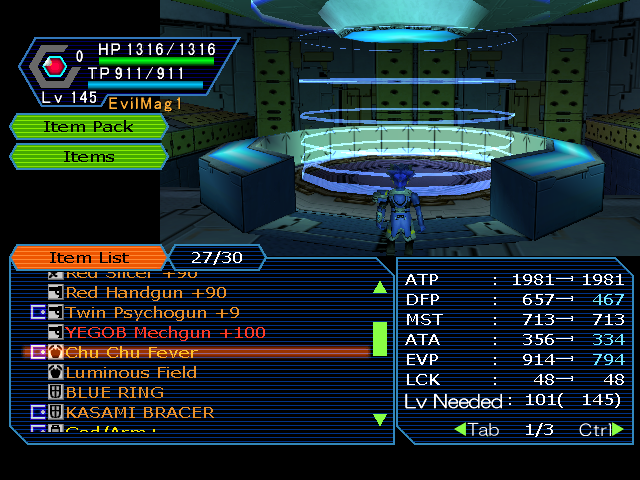 """Lower Case """"Patch"""" for Weapon Names! 2.1 Released! For Armors Pso2011-03-1002-57-04-81"""