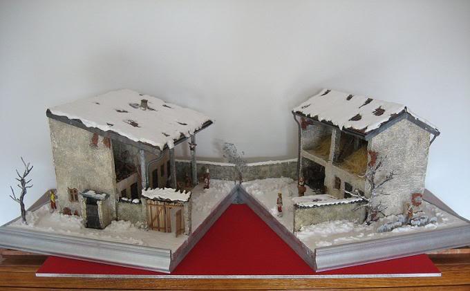 Natale in cascina Barona Presepepap1572
