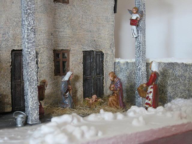 Natale in cascina Barona Presepepap1592
