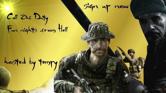 Call Of Duty - Competition! Callofdutyfunnight