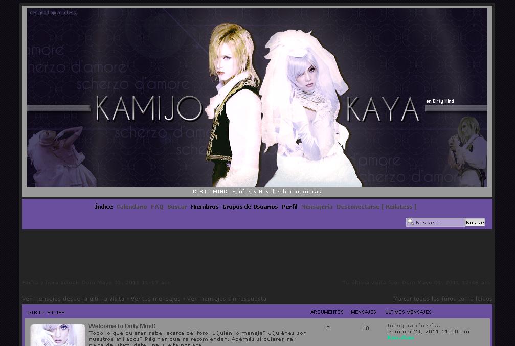 [1105] Versión Kamijo x Kaya Versionmayo