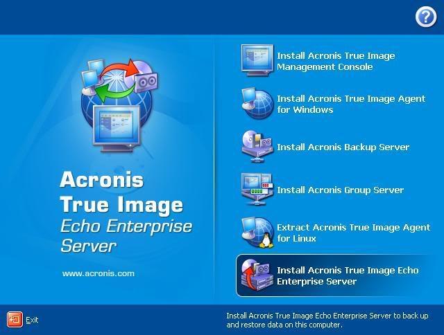 Acronis True Image Echo Enterprise Server v9.5.8115 Full Acronic2