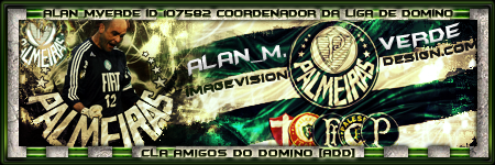 7ª Rodada - até o dia 25/06/2009 RODADA COMPLETA Palmeiras