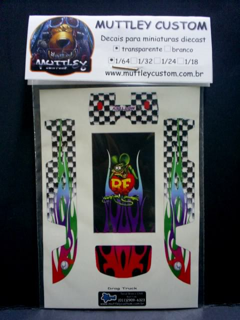 MUTTLEY CUSTOM DECAIS S4020021