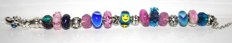 Show your bracelet with the smiley bead! Mysmilie