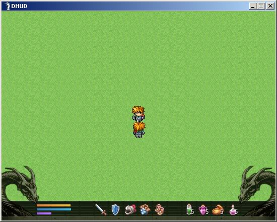 [RPG Maker XP / VX] HUD Dragón DHUD_VX