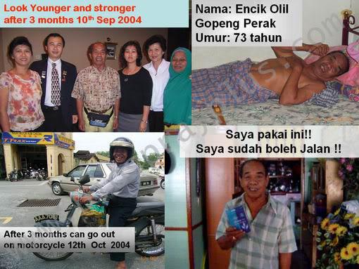 Produk Suplemen - Biospray Anti Penuaan UncleOlil
