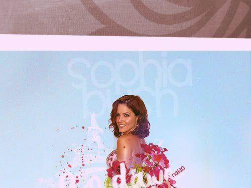 Chall nº 9 || Sophia Bush || Awards pag.3 Sphia