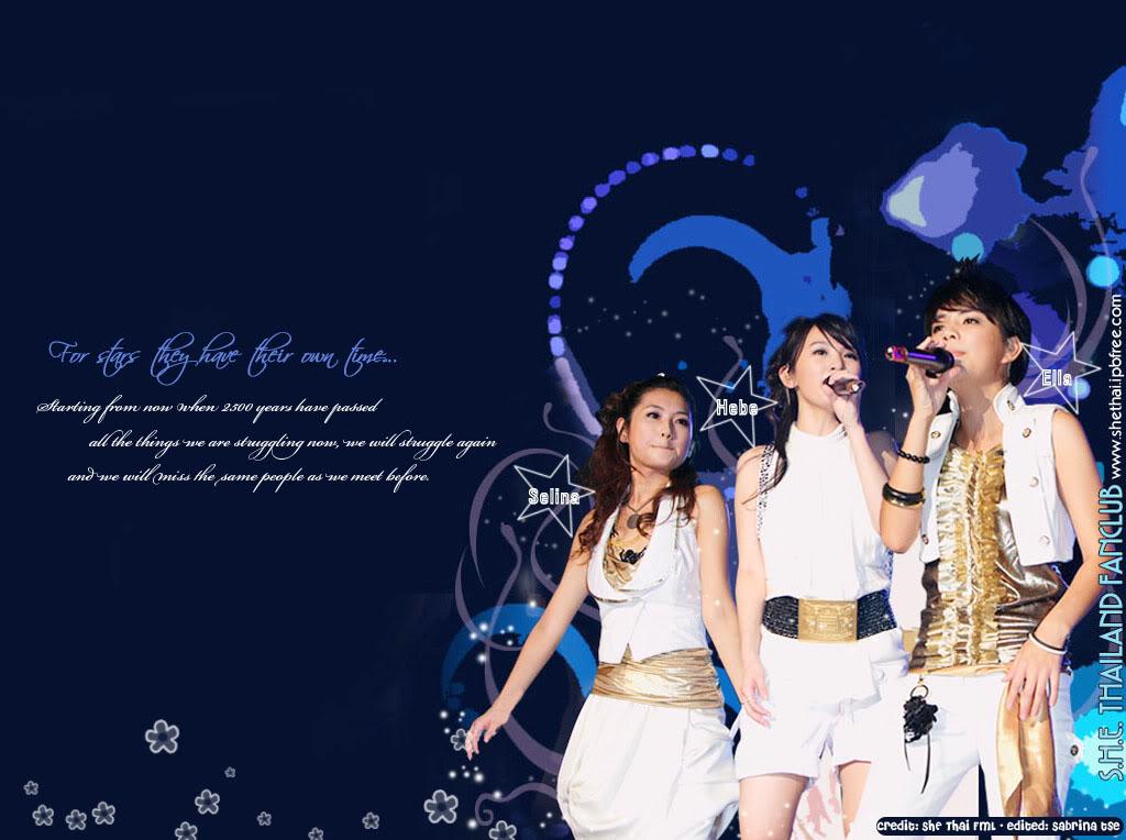 Wallpaper của S.H.E ThemeofSHE003-2