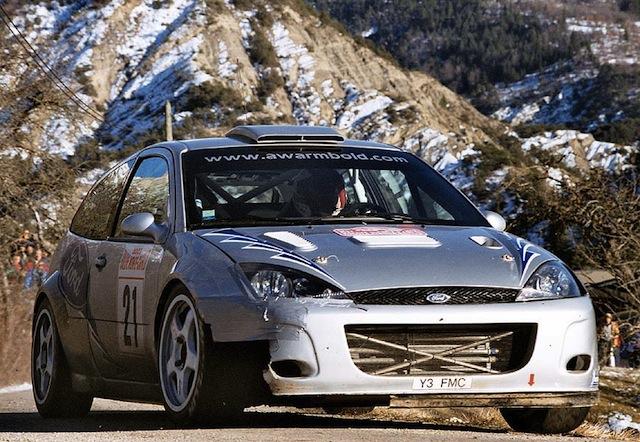 Ford Focus WRC, 2003 Rally Monte Carlo, #21 Antony Warmbold 031MON21WARMBOLDY3FMC-1