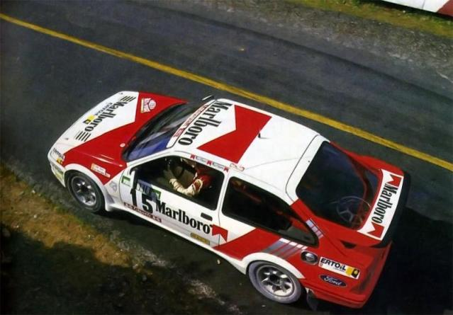 Ford Sierra Cosworth 1/18, 1988 Rally Portugal, #15 Carlos Sainz 1988carlossainzportugal