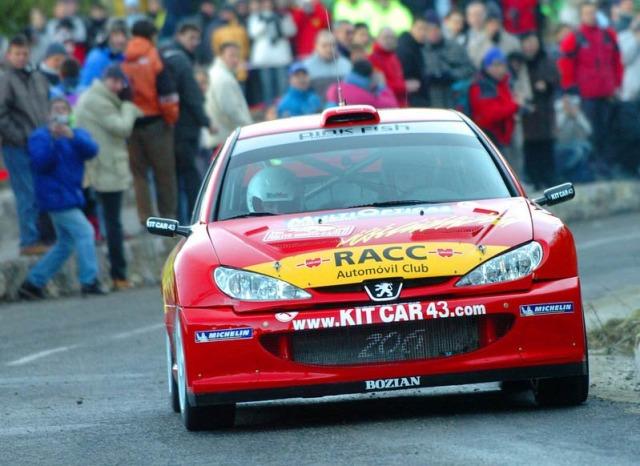 Peugeot 206 WRC, 2005 Monte Carlo Rally #63, Xavier Pons 60804483yb2
