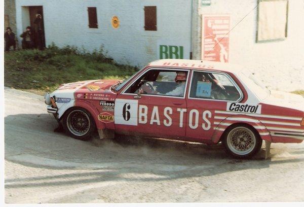 BMW E21 Group 2, Rally Omloop 1982, P. Snijers & G. Van Oosten, 1/18 7716