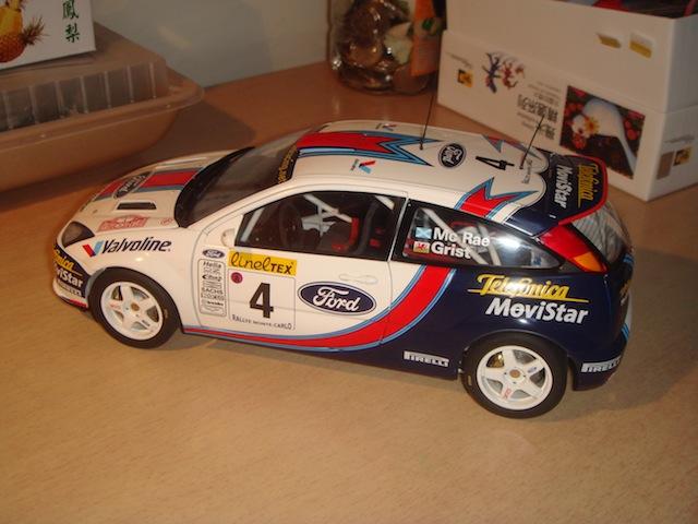 Ford Focus WRC, 2003 Rally Monte Carlo, #21 Antony Warmbold DSC07926-1