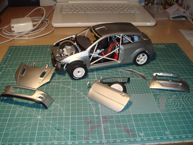Ford Focus WRC, 2003 Rally Monte Carlo, #21 Antony Warmbold DSC07978-1