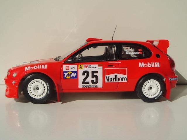 Toyota Corolla WRC, 1999 Rally Portugal, #25 Volkan Isik DSC08173-1
