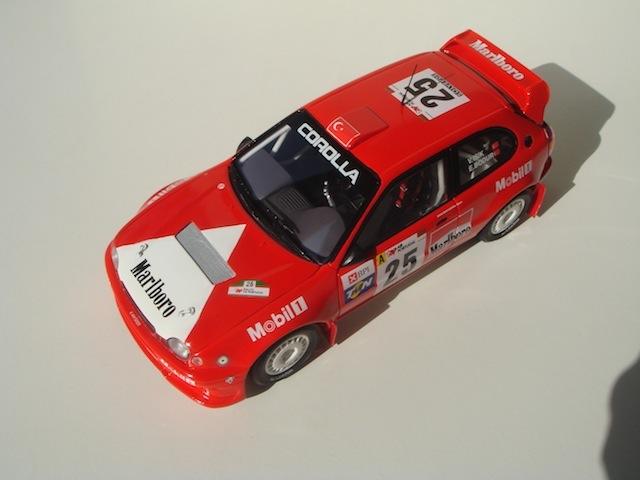 Toyota Corolla WRC, 1999 Rally Portugal, #25 Volkan Isik DSC08183-1