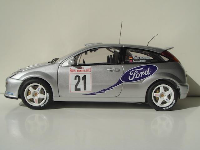 Ford Focus WRC, 2003 Rally Monte Carlo, #21 Antony Warmbold DSC08192