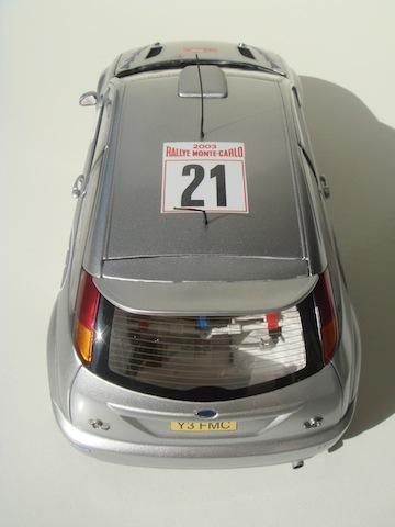 Ford Focus WRC, 2003 Rally Monte Carlo, #21 Antony Warmbold DSC08195