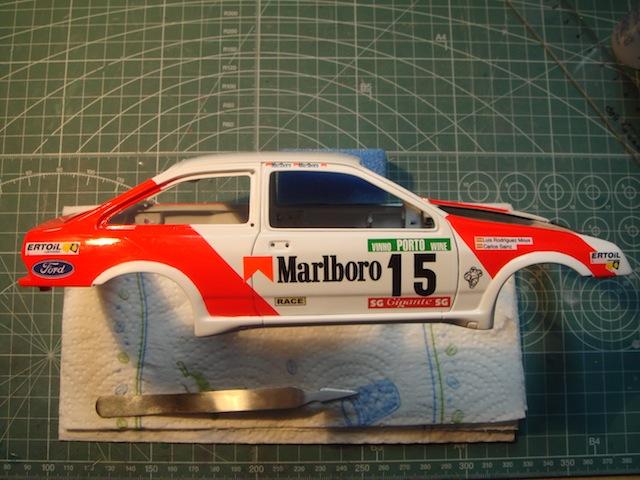 Ford Sierra Cosworth 1/18, 1988 Rally Portugal, #15 Carlos Sainz DSC08223