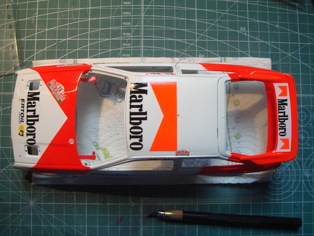 Ford Sierra Cosworth 1/18, 1988 Rally Portugal, #15 Carlos Sainz DSC08226